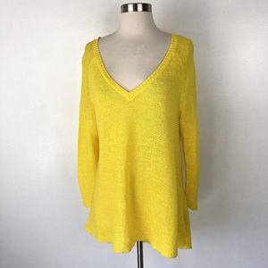 LAUREN Ralph Lauren | Yellow Knit Light Sweater